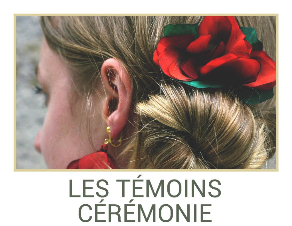 Marie Gonon bijoux création Saint-Etienne Loire - boutons les témoins et cérémonie